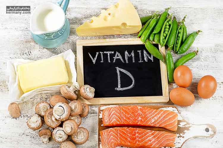 کمبود ویتامین در رژیم غذایی