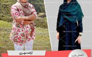 آزاده مهری- رکورددار کاهش وزن دکتر کرمانی
