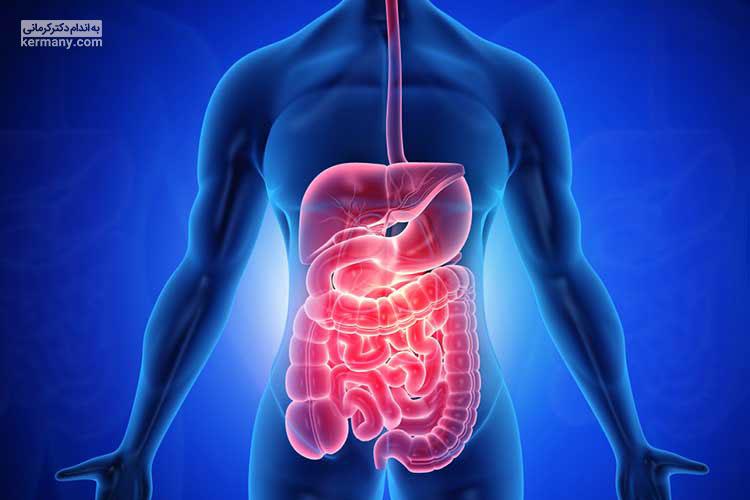 کولیت روده با درد در ناحیه شکم همراه است