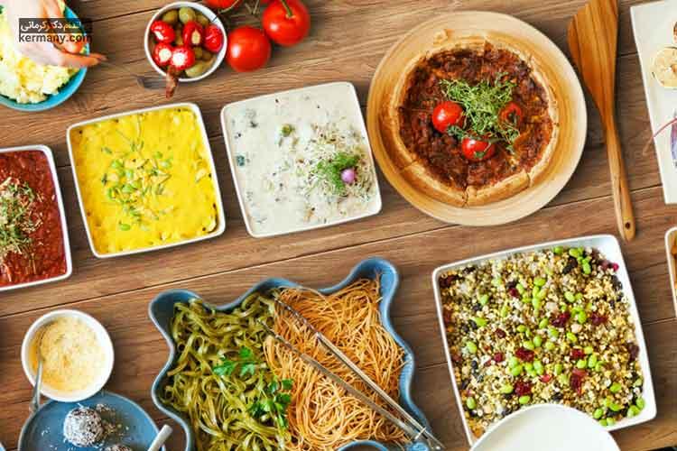تنوع غذایی در رژیم