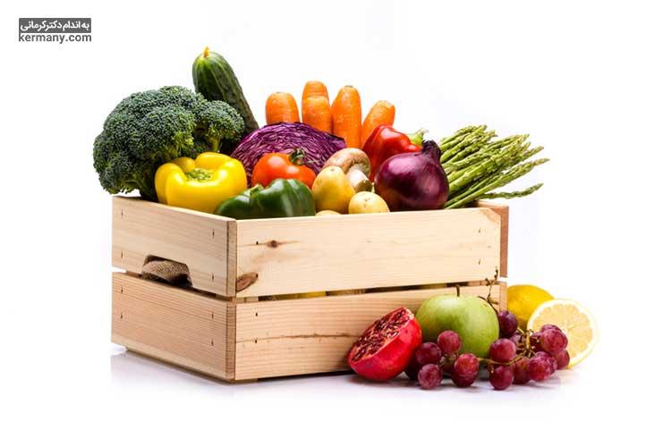 لاغری با رژیم اورنیش با تمرکز بر مصرف سبزیجات حاصل می شود.