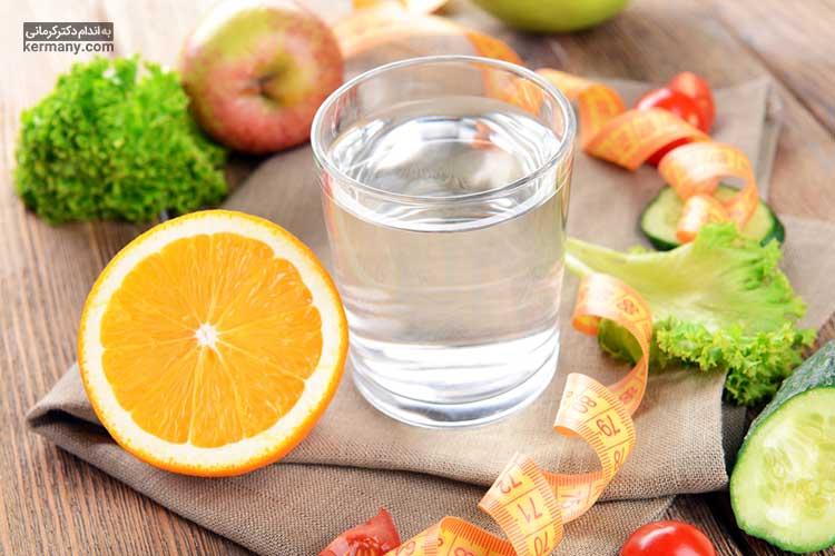 اهمیت نوشیدن آب در رژیم