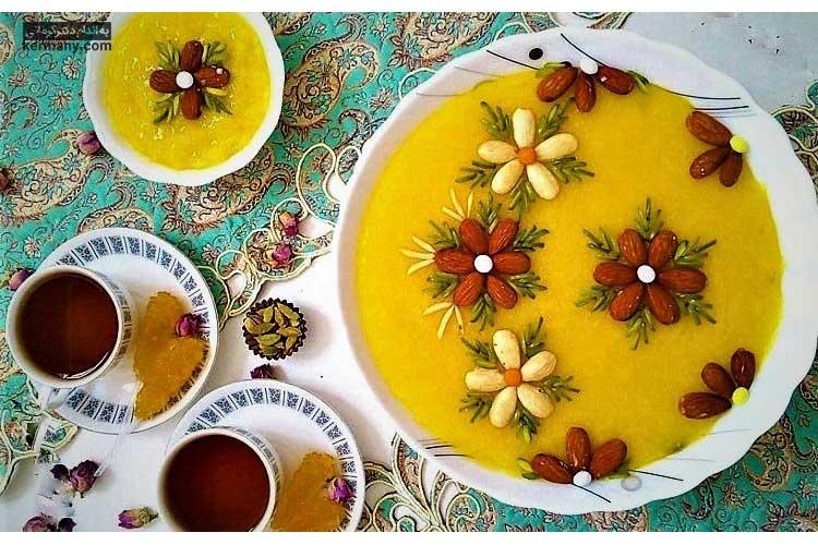 طرز تهیه شله زرد رژيمی برای سفره های افطار ماه رمضان