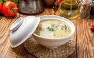 طرز تهیه سوپ شیر رژیمی