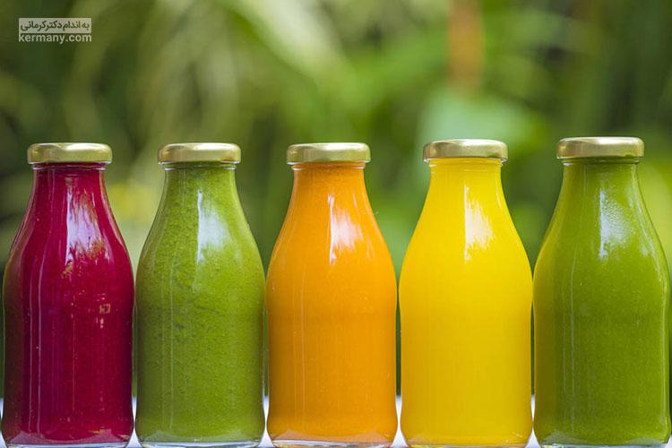 آب میوه ها از میوه تازه کالری بیشتری دارند و بهتر است در مصرف آن ها تعادل را رعایت کنید.