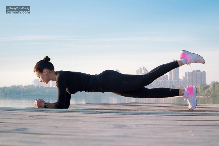 انواع حرکت پلانک برای عضله سازی و آب کردن چربی های شکم بسیار مفیدند.