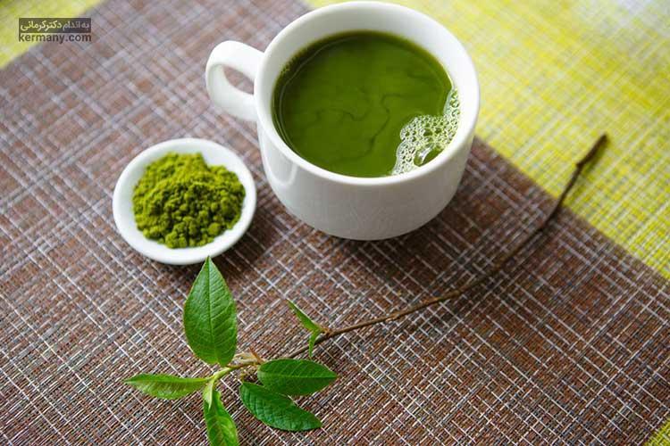 مصرف چای سبز برای کاهش وزن سریع