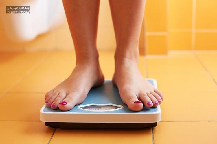 کاهش ناگهانی وزن