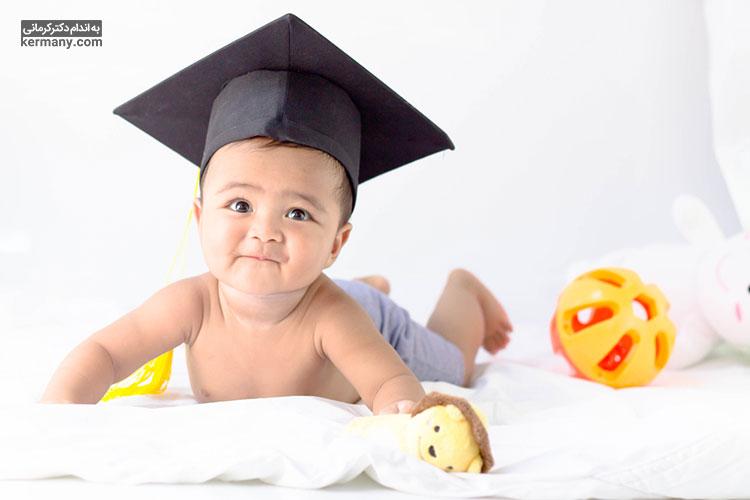 مصرف شیر مادر باعث افزایش هوش کودک می شود.