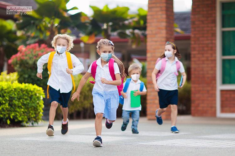 پیشگیری از کرونا در مدارس