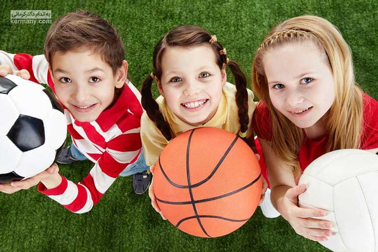 افزایش تحرک و فعالیت کودکان میتواند از چاقی کودکان جلوگیری کند.