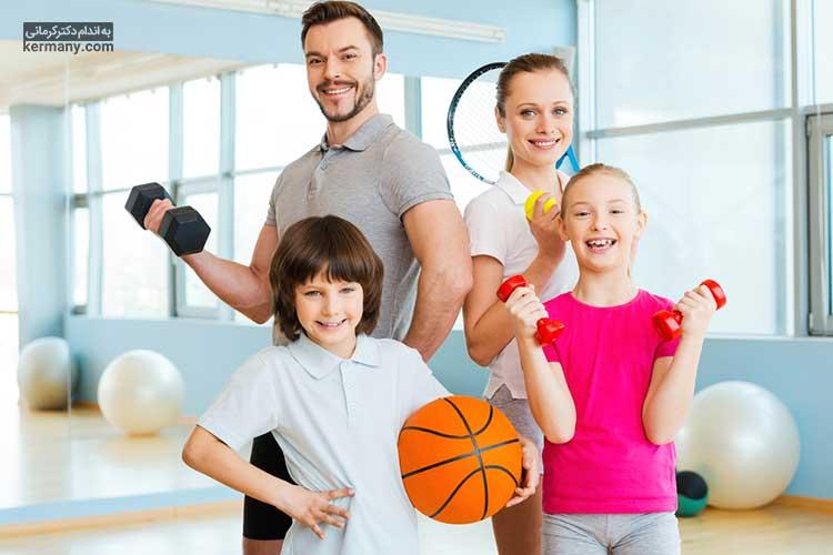 برای افزایش تحرک کودکان باید از فرصت هایی که خانواده دور هم جمع هستند استفاده کرد و به فعالیت های دسته جمعی پرداخت