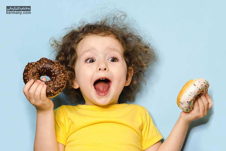 یکی از علت های اشتهای زیاد کودکان، مصرف غذاهای ناسالم و فاقد ارزش غذایی است.