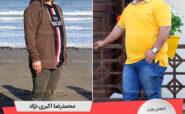 رکوردار رژیم کاهش وزن