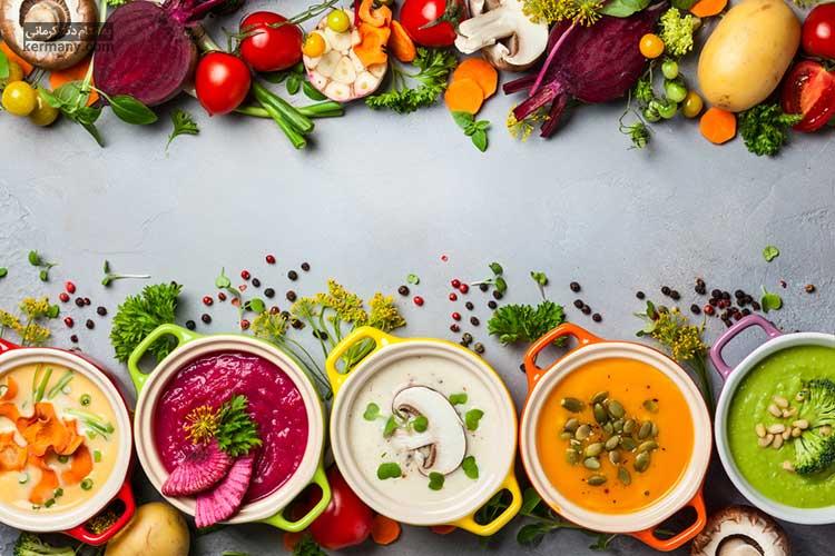 برنامه غذایی رژیم سوپ کلم