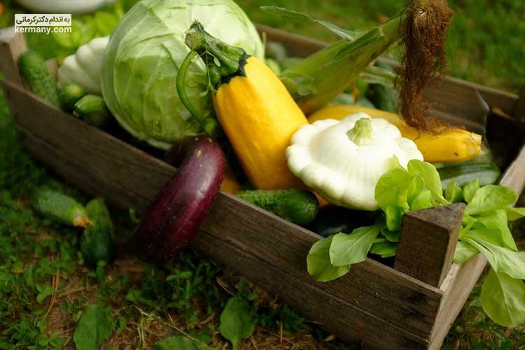 در رژیم کتوژنیک سعی کنید از سبزیجات غیر نشاستهای بیشتر استفاده کنید