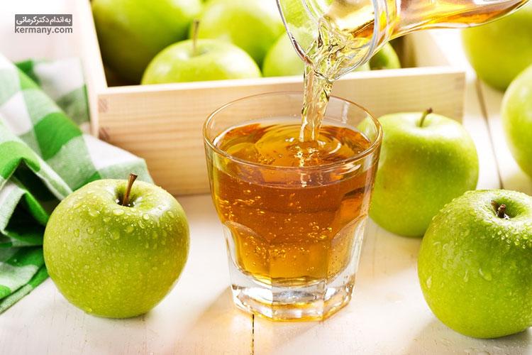 مصرف سیب به صورت موضعی میتواند به پر شدن گونه ها کمک کند.