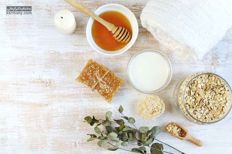 استفاده از شیر و عسل هم به صورت خوراکی و هم به عنوان ماسک صورت، میتواند به چاق شدن صورت کمک کند.