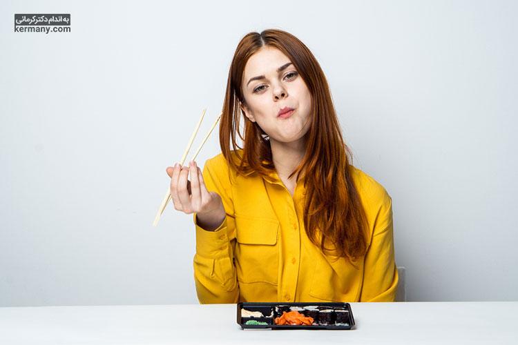 یکی از نکات مهم رژیم غذایی مایر، جویدن زیاد لقمه ها است که موجب کنترل میزان غذای دریافتی می شود.