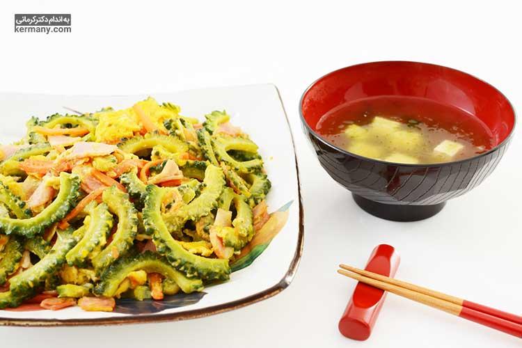 طی تحقیقی که در اوکیناوای ژاپن انجام شد مشخص گردید که رژیم غذایی اهالی این منطقه باعث افزایش طول عمر آنها شده است.