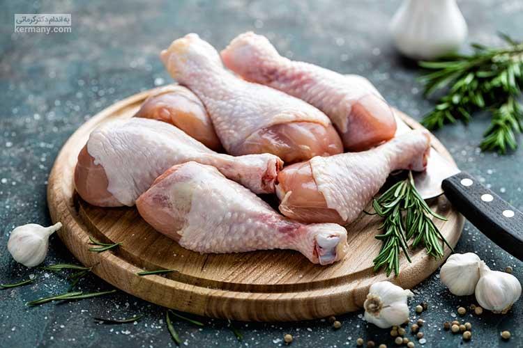 در رژیم همپتون توصیه میشود تا به جای گوشت های پرچرب، گوشت های سالم مانند مرغ و ماهی مصرف شود.
