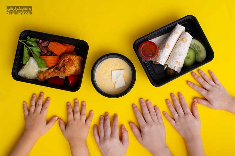 رژیم جدید دکتر کرمانی برای کودکان جهت پیشگیری از چاقی کودکان