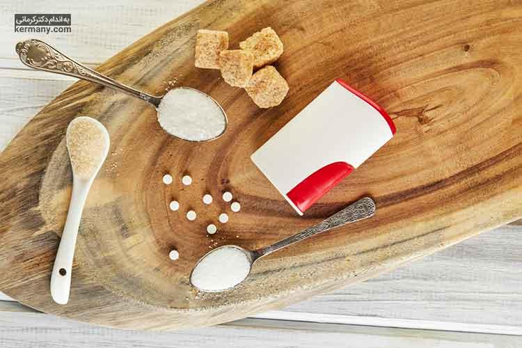عوارض مصرف بیش از اندازه شیرین کننده های رژیمی