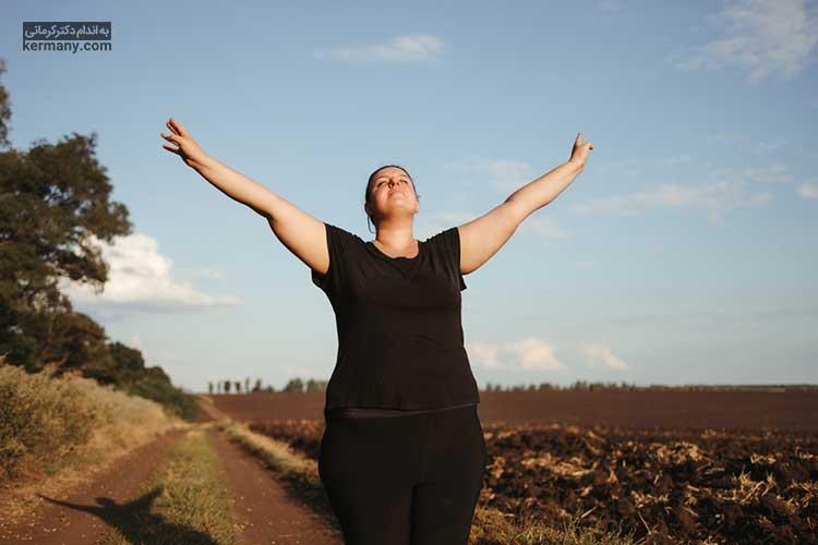 برای افزایش تقویت اراده برای لاغری بهتر است که خودمان را دوست داشته باشیم