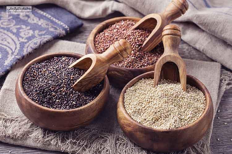 کینوا به دلیل وجود مواد مغذی و پروتئین فراوان، خواص بسیار زیادی دارد.
